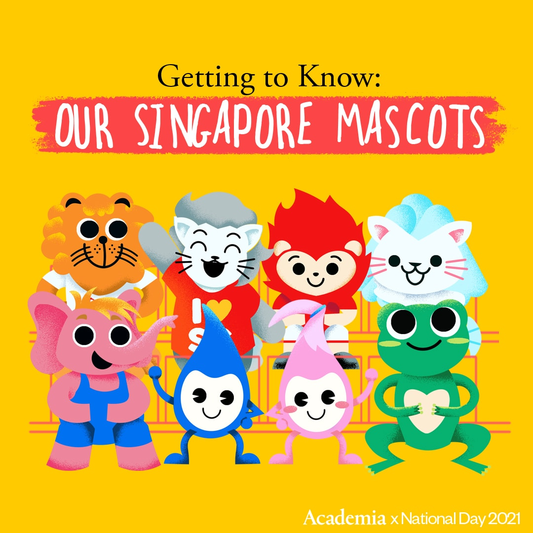 Getting to Know our Singapore Mascots with Academia