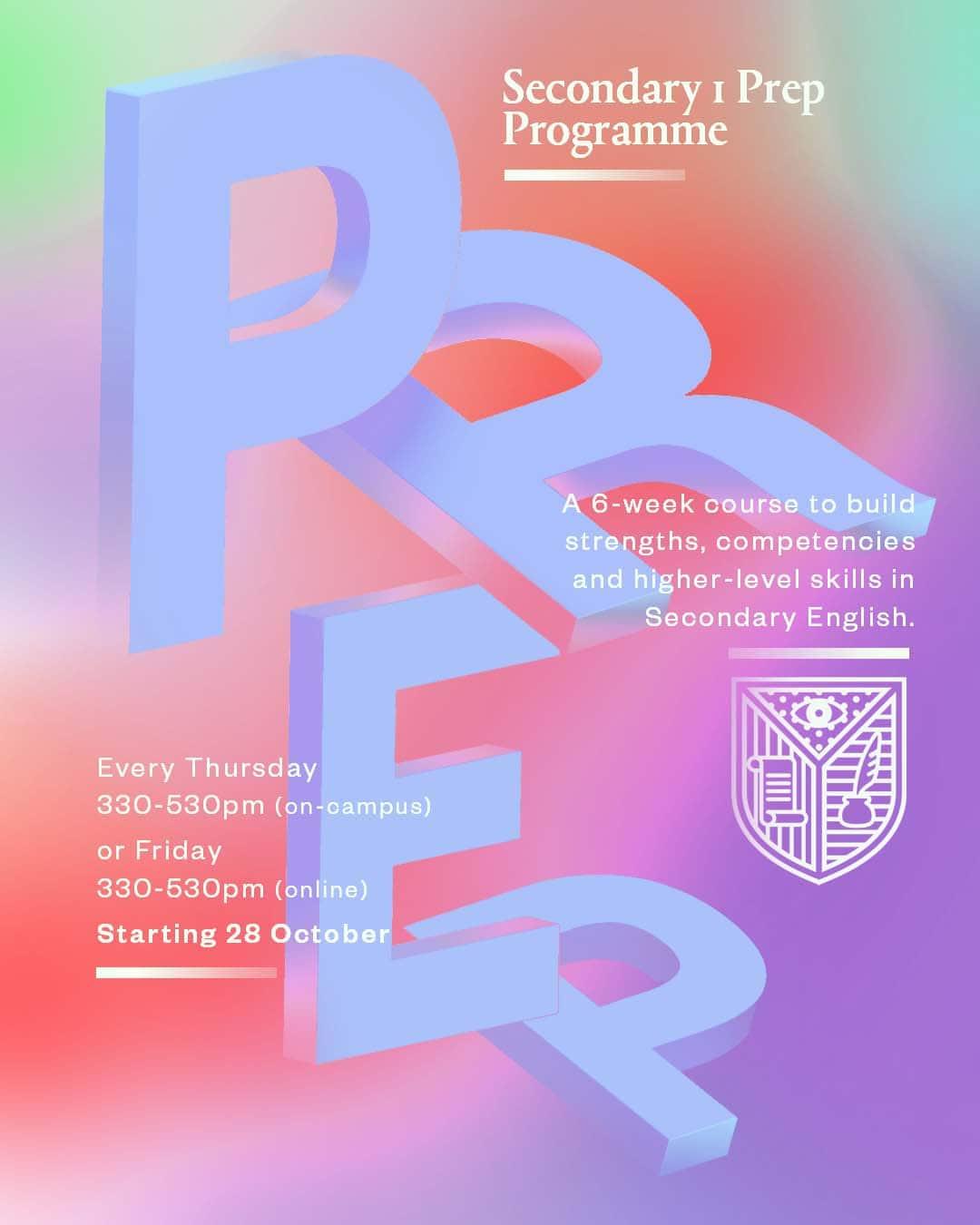 Information on Academia's 2021 Secondary Prep Programme